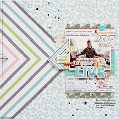 "103 Likes, 6 Comments - Adrienne Alvis (@adriennealvis) on Instagram: ""I shared this layout on the @pinkfreshstudio blog last week and now it's live on my blog, link in…"""