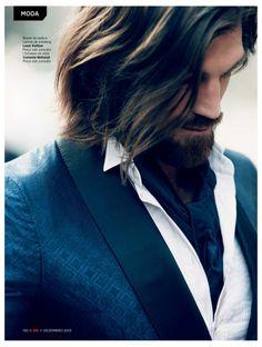 <3 the pattern on the blazer henrik fallenius 0006 Henrik Fallenius is an Urban Dandy for GQ Brazil