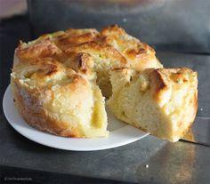 Quark-Vanillepudding-Kuchen