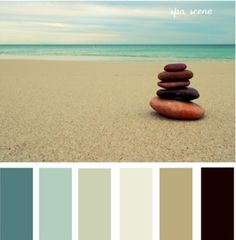 Love this color spa pallet!