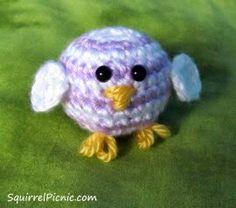 Amigurumi Chick - FREE Crochet Pattern / Tutorial
