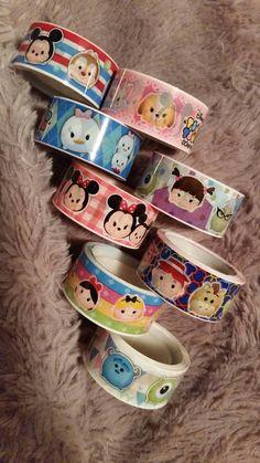 New Disney Tsum Tsum Washi Samples