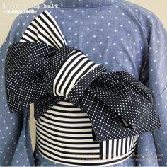 nisijin-komonoya | Rakuten Global Market: Original-03 reversible Obi (narrow band) - stripes - polka-dot pattern and narrow band and can be used immediately with rose belt