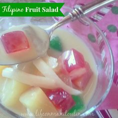 Festive Filipino Fruit Salad #recipe - Life on Manitoulin