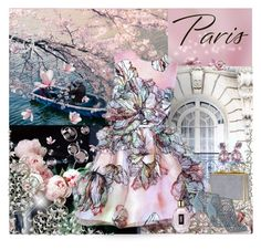 """""""Paris in the Fall"""" by dezaval ❤ liked on Polyvore featuring WALL, Elie Saab, Sergio Rossi, Yves Saint Laurent and fallgetaway"""