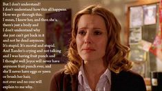 Oh, Anya, sometimes you show us just how human we are. This speech makes me tear up every single time because its just so true. This episode no matter how many times I've seen it, gets me every. Single.time