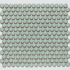 I want this tile for the floors in the bathroom @Overstock - Glazed porcelain tile for your kitchen, bath, fireplace, pool, foyer or backsplash   This floor and wall tile comes in lite green color option usehttp://www.overstock.com/Home-Garden/SomerTile-12.25x12-in-Penny-3-4-in-Lite-Green-Porcelain-Mosaic-Tile-Pack-of-10/4564996/product.html?CID=214117 $66.99