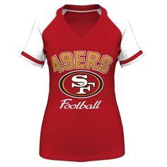 San Francisco 49ers Raglan Tee - Toddler | Raglan Tee, San ...