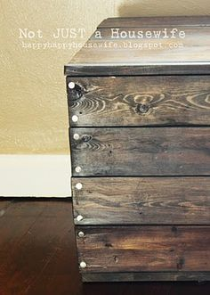 Furniture I have built or refinished {part one} | Not JUST A Housewife