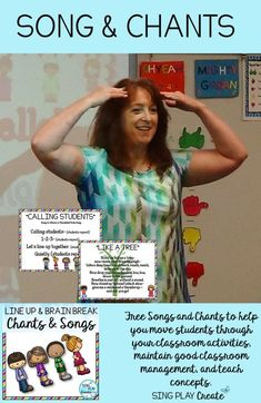 Quick and Easy Music Class Transitions - Music Education Activities, Special Education Classroom, Music Classroom, Classroom Activities, Classroom Management Songs, Movement Activities, Classroom Ideas, Singing Lessons, Music Lessons