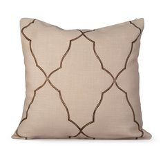 Mesmerize Feather-filled Decorative Pillow - Overstock™ Shopping - Great Deals on NA Throw Pillows