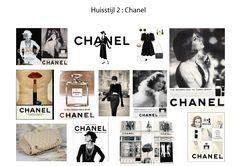 Huisstijl: Chanel (gekozen stijl) Beschrijving: Zeer klassieke stijl, klassiek kleurpallet (zwart, wit, creme), straight forward typografie, het valt op. Typografie staat sterk en heeft een statement.