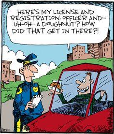 Road side legal humor.