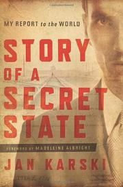 Cover art for STORY OF A SECRET STATE