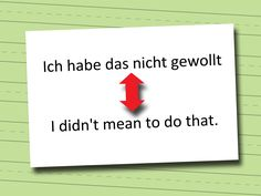 How to Apologise in German -- via wikiHow.com
