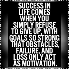 Successs.... There is NO other option!