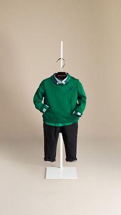 Burberry Baby Knight Sweater   Burberry