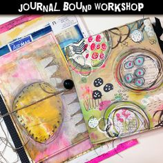 Journal Bound Workshop $23 and other classes