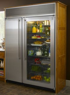 I want this fridge in my new house. :)