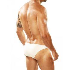 (Cover Male 101 Bikini Beige) Composition:85% Nylon 15% Spandex