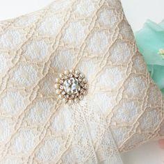 Anello nuziale cuscino portatore cuscino di JasmineLoveHandmade