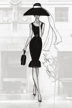 12 Stunning Fashion Sketches by Hayden Williams | Psdtuts+