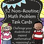 This is a collection of 52 nonroutine problems. Non-Routine math problems.