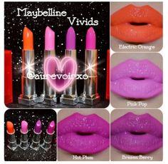 Maybelline Color Sensation Lipsticks