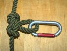 Top 10 Most Useful Rope Knots A list of most practical rope knots. This is a totally unscientific sampling of the most useful knots ...