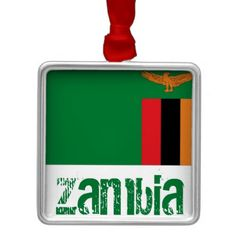 Shop Zambia Metal Ornament created by thebuffet. Flag Country, Country Names, Zambia Flag, Political Events, Travel Souvenirs, National Flag, Holiday Festival, Paper Napkins, Flags
