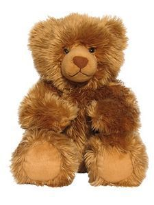 """My mother-in-law left a mink stole and several fake fur coats in her wake.  Mink teddy bears seem to be the perfect """"home"""" for her dearly-beloved coats."""