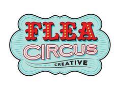 Flea Circus Logo Mockup A, Amy Hood, dribble