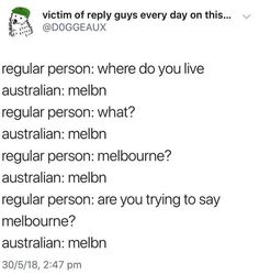 "I like how they don't consider Australian people as ""regular people"" Aussie Tumblr, Australian Tumblr, Australian Memes, Aussie Memes, Australian Accent, Australian People, Australian English, Funny Christmas Pictures, Funny Pictures"