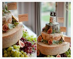 A literal cheese cake!      town-country-england-wedding-13a