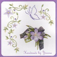 YB 111 Lila bloemen