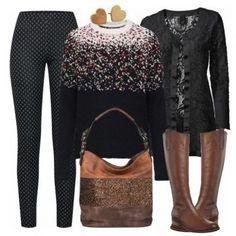 Luna Damen Outfit - Komplettes Freizeit Outfit günstig kaufen    FrauenOutfits.de Günstig Kaufen, 8a69a89216