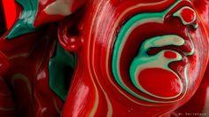 RainBowGirl de la serie CandySkin by Daniel Varela   Abstract   3D   CGSociety