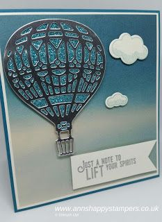 Ann's Happy Stampers: Serene Scenery & Lift me up bundle