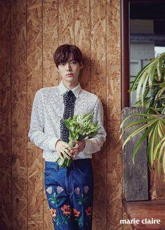 Ahn Jae-hyun // Marie Claire Korea