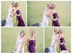 bride and maid of honor, mini session!