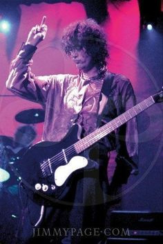 Jimmy Page and his finger