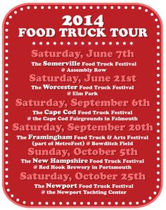 2014 Food Truck Festival of New England #festivals