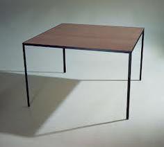 angle iron table - finished metal
