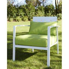 Salon de jardin en aluminium a une finition irreprochable. Il comprend 4 piéces : un Sofa, 2 fauteuils, 1 table. Les coussins toile polyester sont rembourrés de mousse de polyuréthane spéciale à séchage ultra rapide.