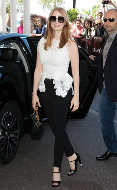 Jessica Chastain from The Big Picture: Today's Hot Photos  Simply stunning! The actress is seen out and about during Cannes Film Festival.