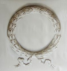 Ian Cairnie Trompe l& Samples Wall Painting Decor, Stencil Painting, Trumeau Mirror, Moldings And Trim, Grisaille, Laurel Wreath, Empire Style, Ceiling Design, Arabesque