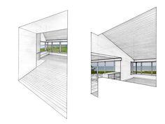 Peter Rose + Partners | Vineyard Residence, Chilmark, Massachusetts #illustration