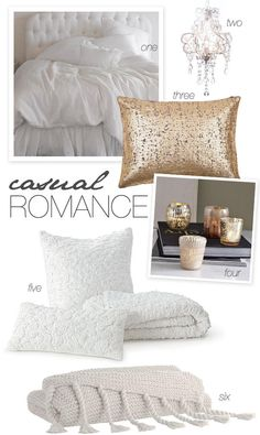 Casual Romance | #Bedding Inspiration | SMP at Home: Wedding to Bedding Inspiration: http://www.stylemepretty.com/living/2012/08/19/smp-at-home-bedding-inspiration/