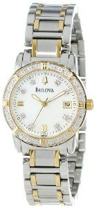 #Bulova #Women's 98R107 #Diamond #Accented #Calendar #Watch