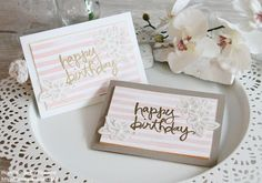 Stampin Up Geburtstagskarte Birthday Card Karte Stempelset Watercolor Words Stempelset Brushstrokes Stempelmami Nadine Koeller 013